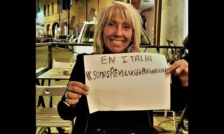 Solidarietà a Geraldina Colotti, giornalista dalla parte della rivoluzione bolivariana