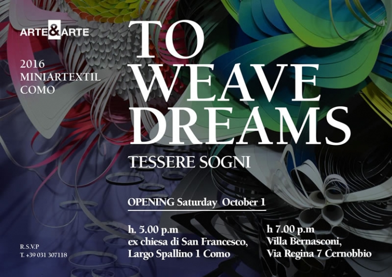 To Weave dreams - tessere i sogni