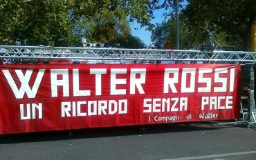 30 settembre 1977: l'assassinio di Walter Rossi
