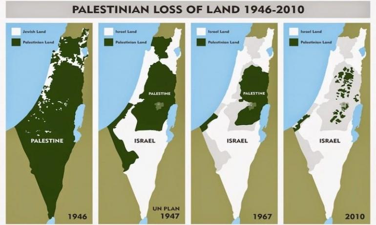 Cartina Israele Palestina.Cos E In Ballo Con L Annessione Della Palestina La Citta Futura