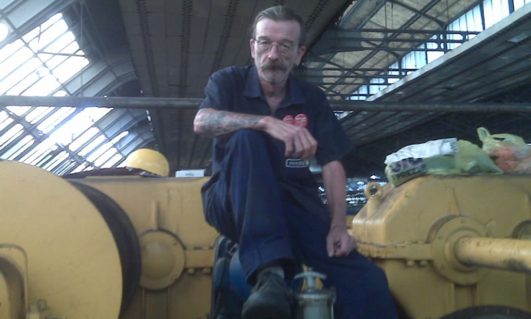Milano, la lotta degli operai INNSE