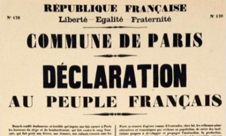 150 anni della Comune di Parigi: autonomia comunale e dittatura del proletariato