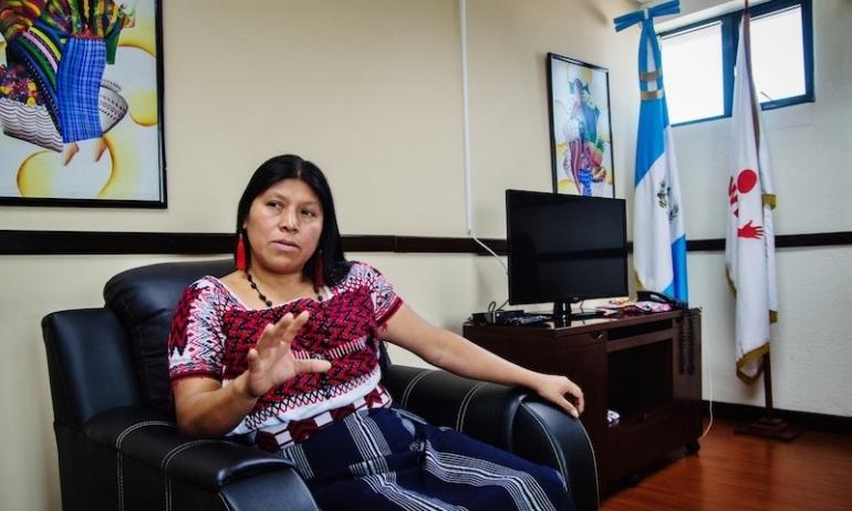 La voce del Guatemala che lotta: intervista a Sonia Gutiérrez Raguay