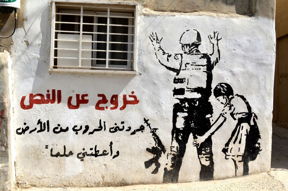 murales a Dheisheh Refugee Camp (Betlemme)